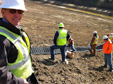 Onsite Engineering Support for the SmartDitch range of drainage and channel ling systems