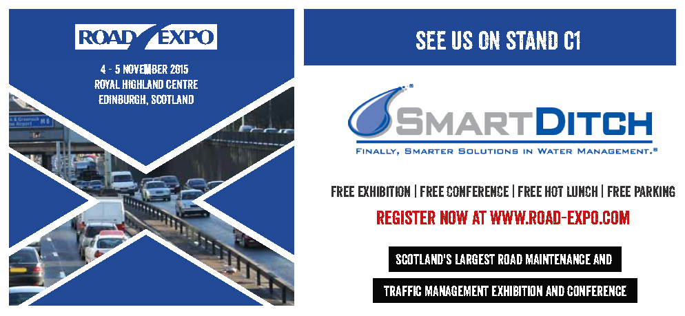 SmartDitch Road Expo banner